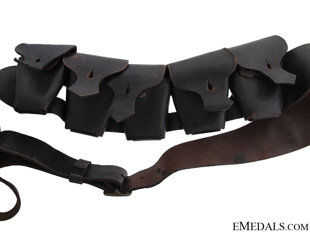 British Five Pocket Infantryman Bandolier