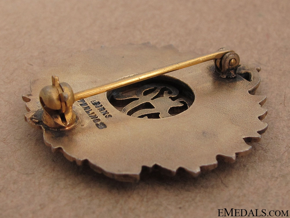 WWII Royal Canadian Engineers Pin by Birks