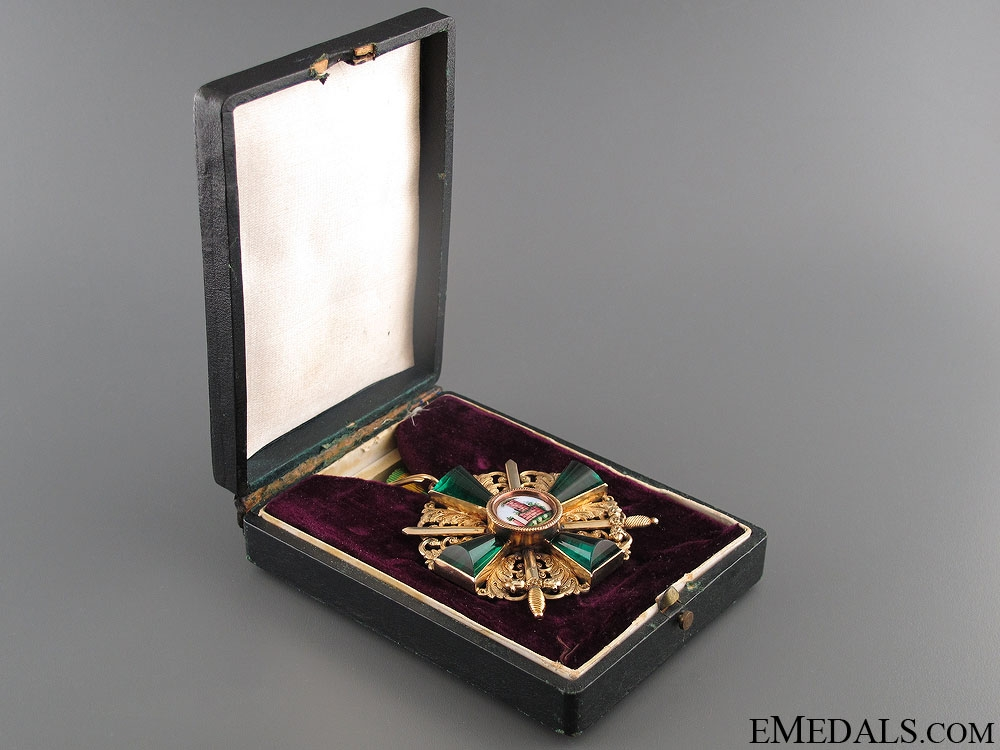 Order of Zahringen Lion - Commanders Cross