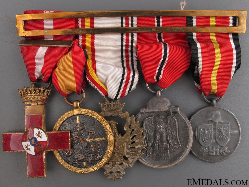 A Fine Spanish Blue Division Set of Awards