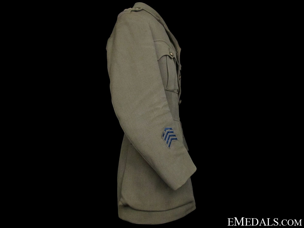 A First War CEF Captain's Tunic