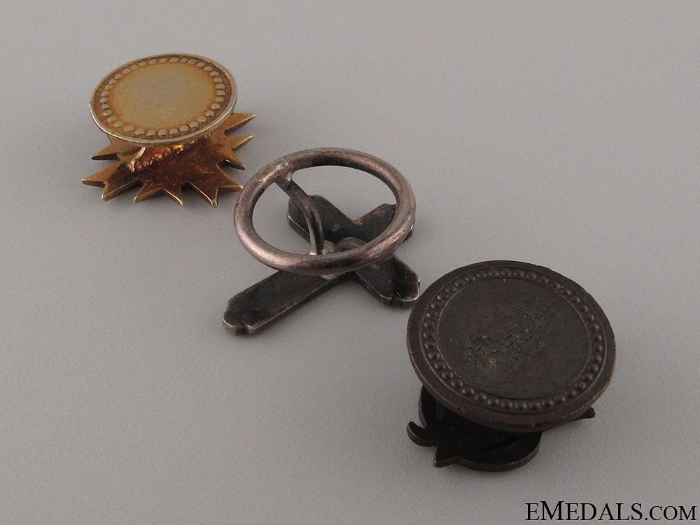 Three Spanish Miniature Orders