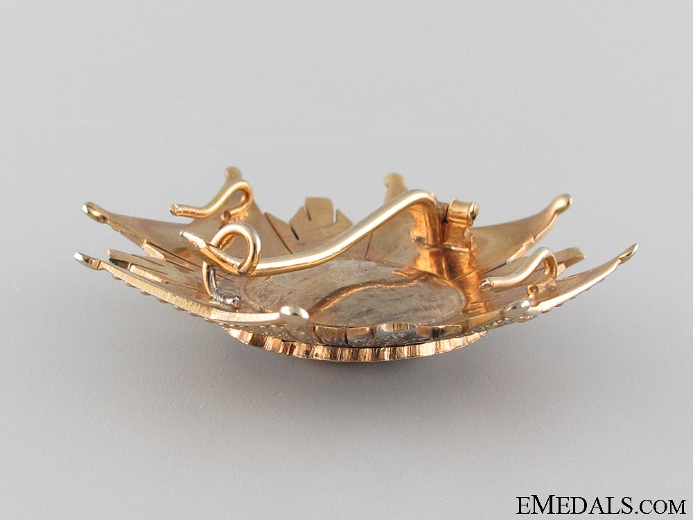 The Royal Order of Hermengildo; 2nd Class Breast Star