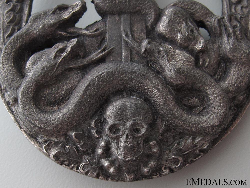 A Silver Grade Anti-partisan Badge
