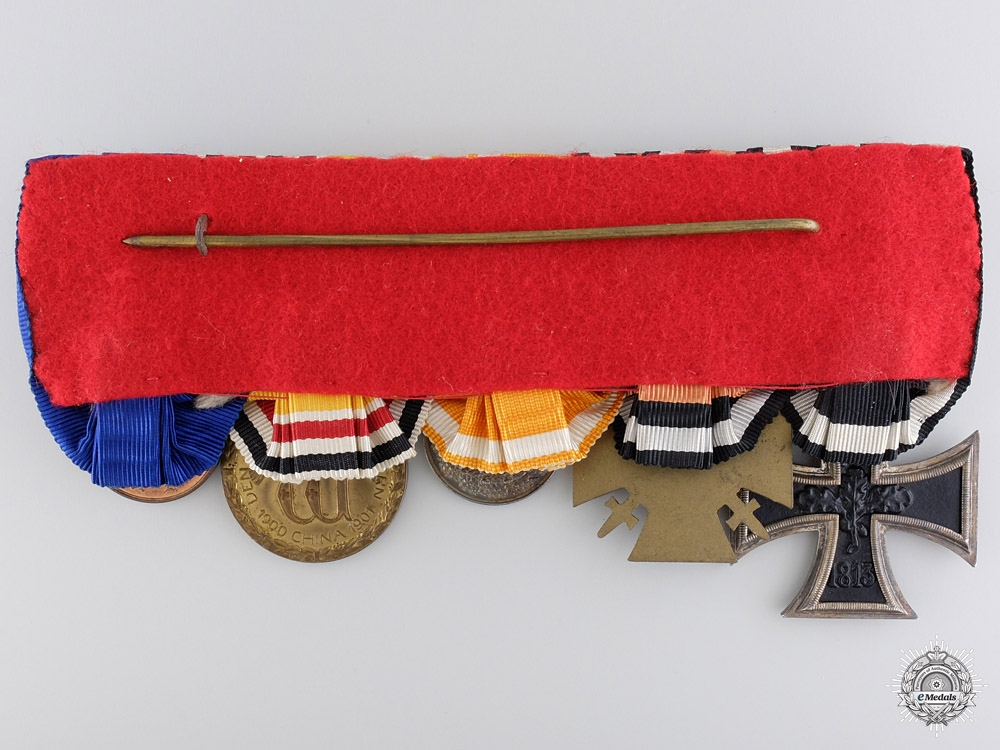 A 1901 China Service Medal Bar to the 37th Infantry Regiment