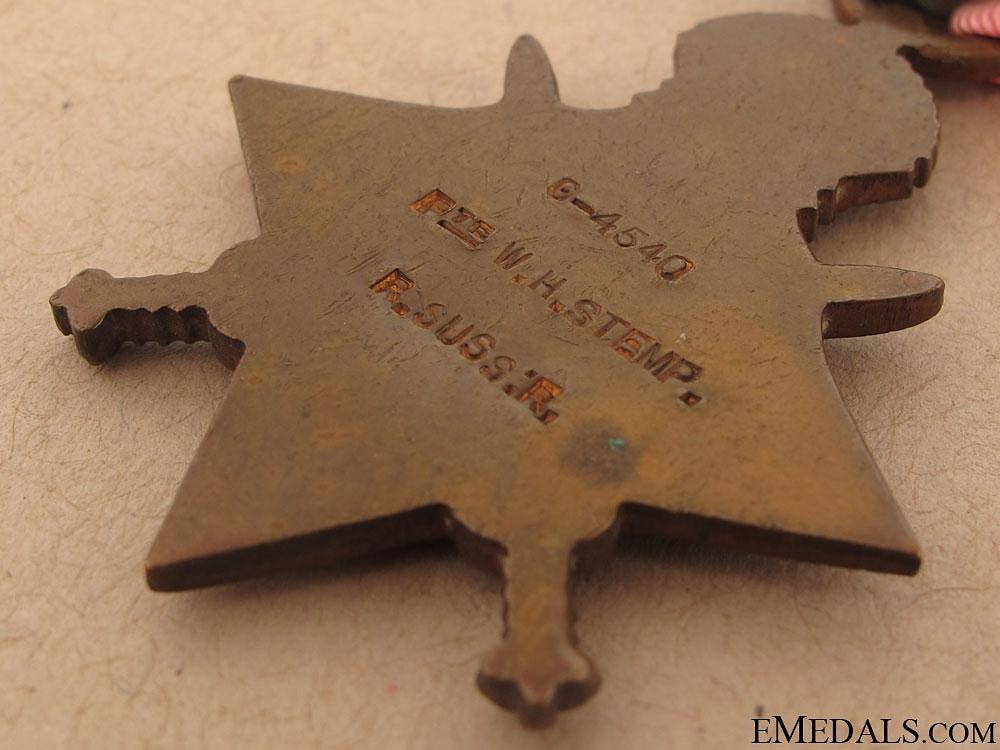 1914-15 Star - Royal Sussex Regiment