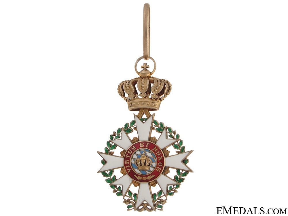 Merit Order of Bavarian Crown