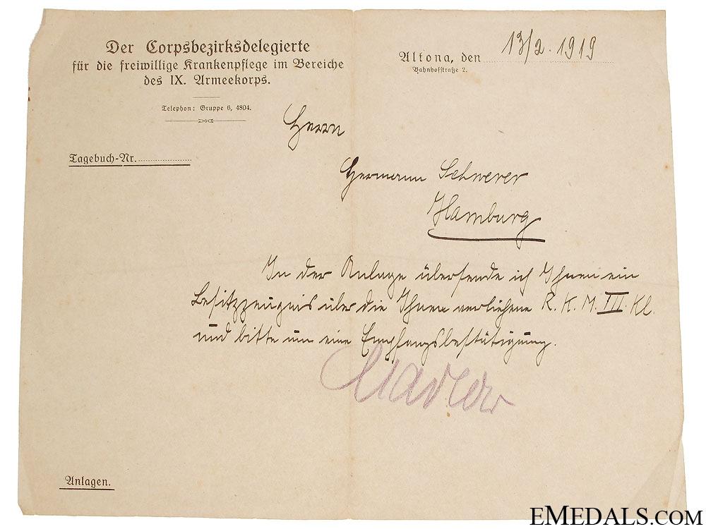 WWI Award Document Grouping