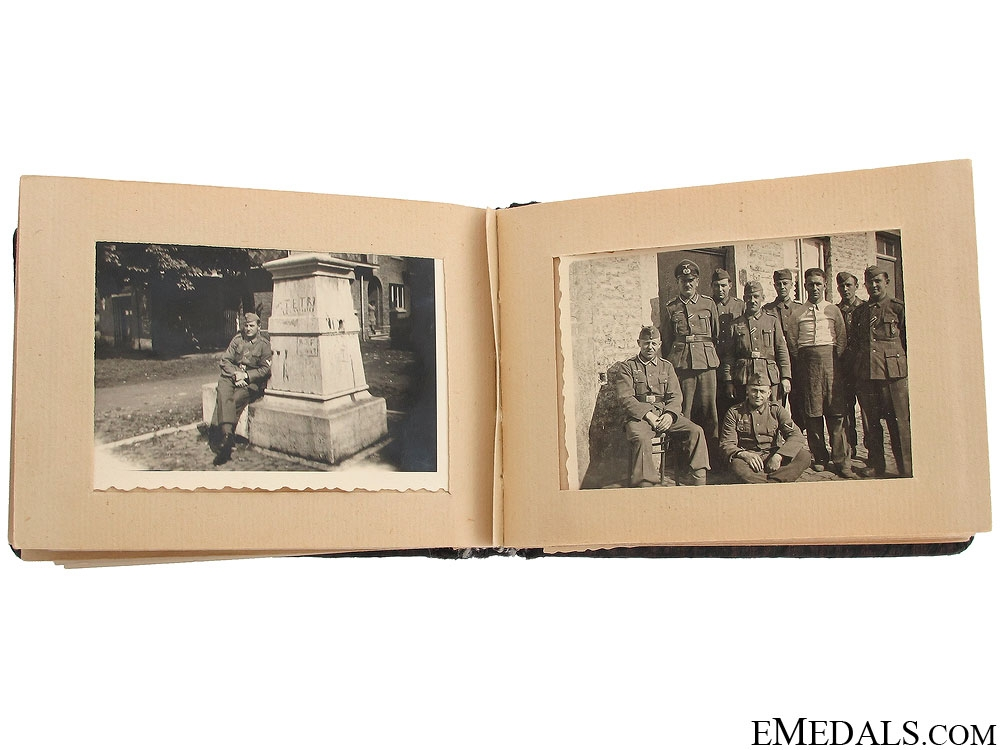 WWII Eastern Front Miniature Photo Album