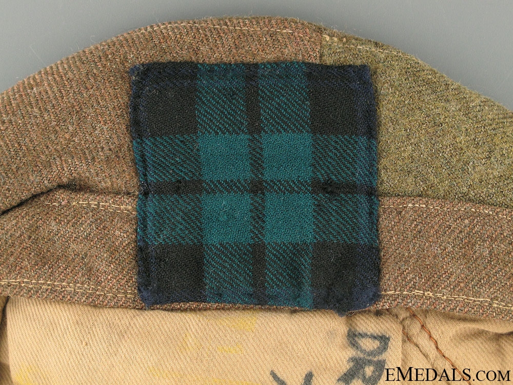 WWII Black Watch (Royal Highland Regiment) Tam