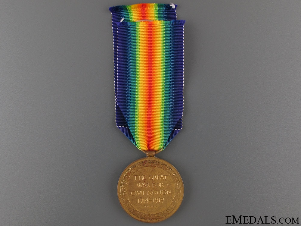 WWI Victory Medal - Lieutenant Beecheno