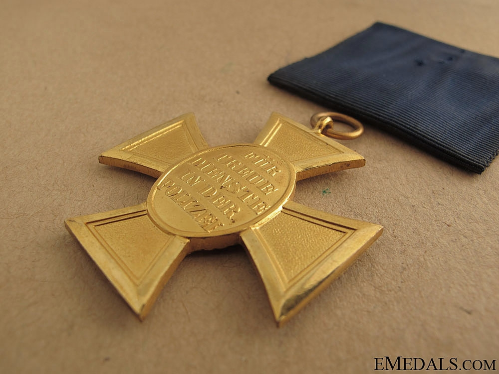 Police Service Cross First Class