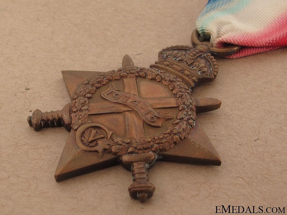 1914-15 Star - Scottish Rifles