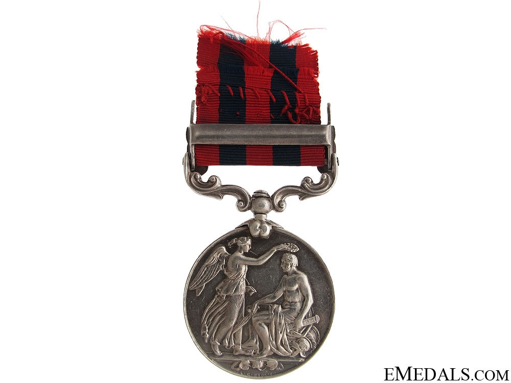 India General Service Medal 1854 - 2nd Lieut.