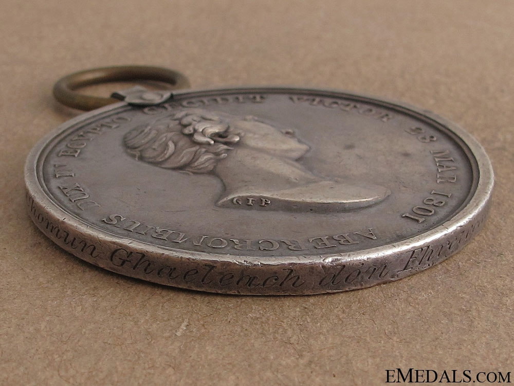 1801 Highland Society's Medal for Egypt