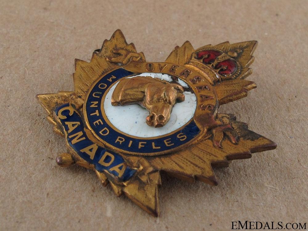 WWI Overseas Mounted Rifles Sweetheart Pin