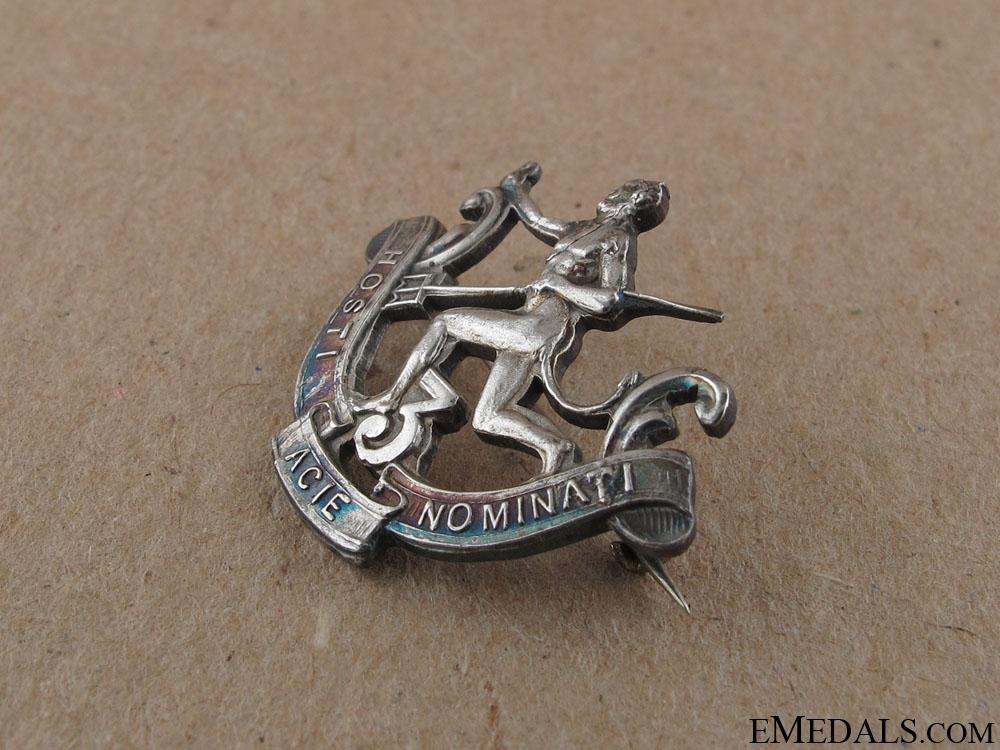 """WWI 3rd """"Little Black Devils"""" Sweetheart Pin"""