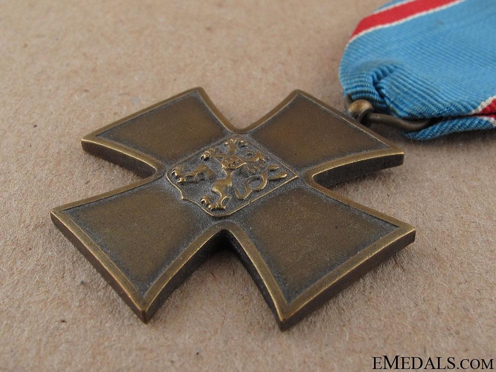 WWI Czech Volunteer Cross 1918-1919