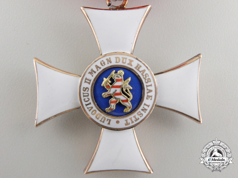 A Hessen Order of Philip; Knight's Cross 1st Class in Gold