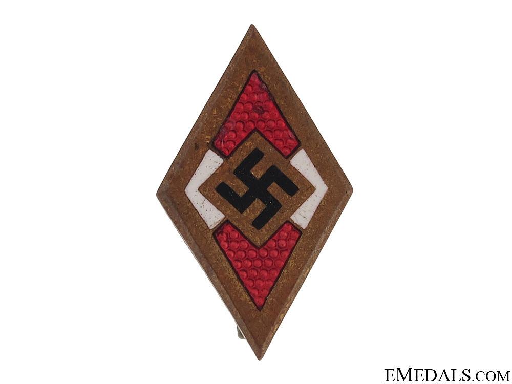 HJ Golden Honor Badge & Document