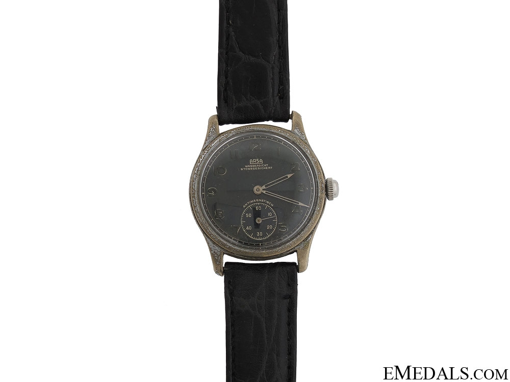 Arsa Wehrmacht Army Wrist Watch