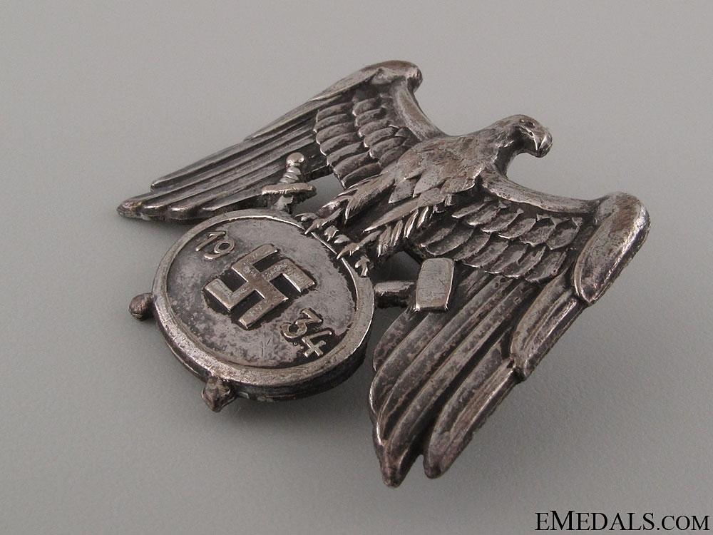 Mine Service Cap Badge