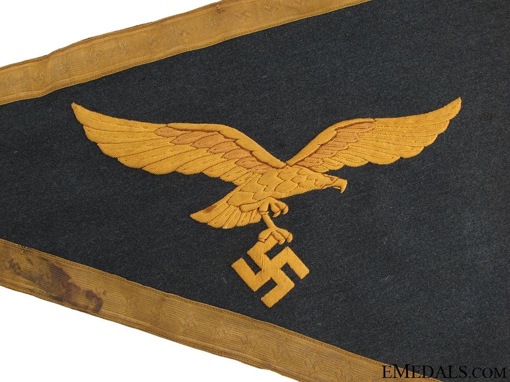 Rare Luftwaffe General's Car Pennant