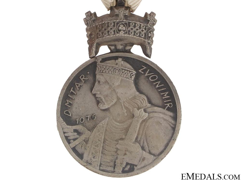 Silver Medal of King Zvonimir Crown