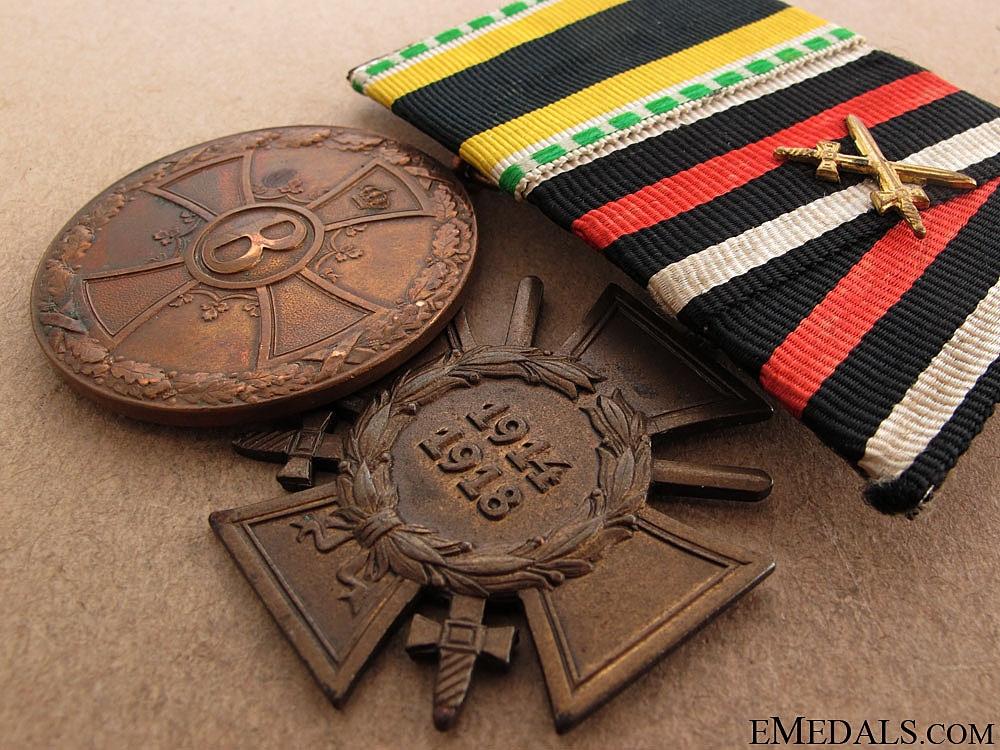 Imperial Medal Pair