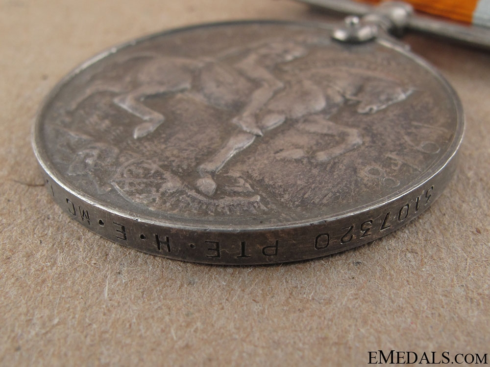 WWI War Medal -Central Ontario Regiment