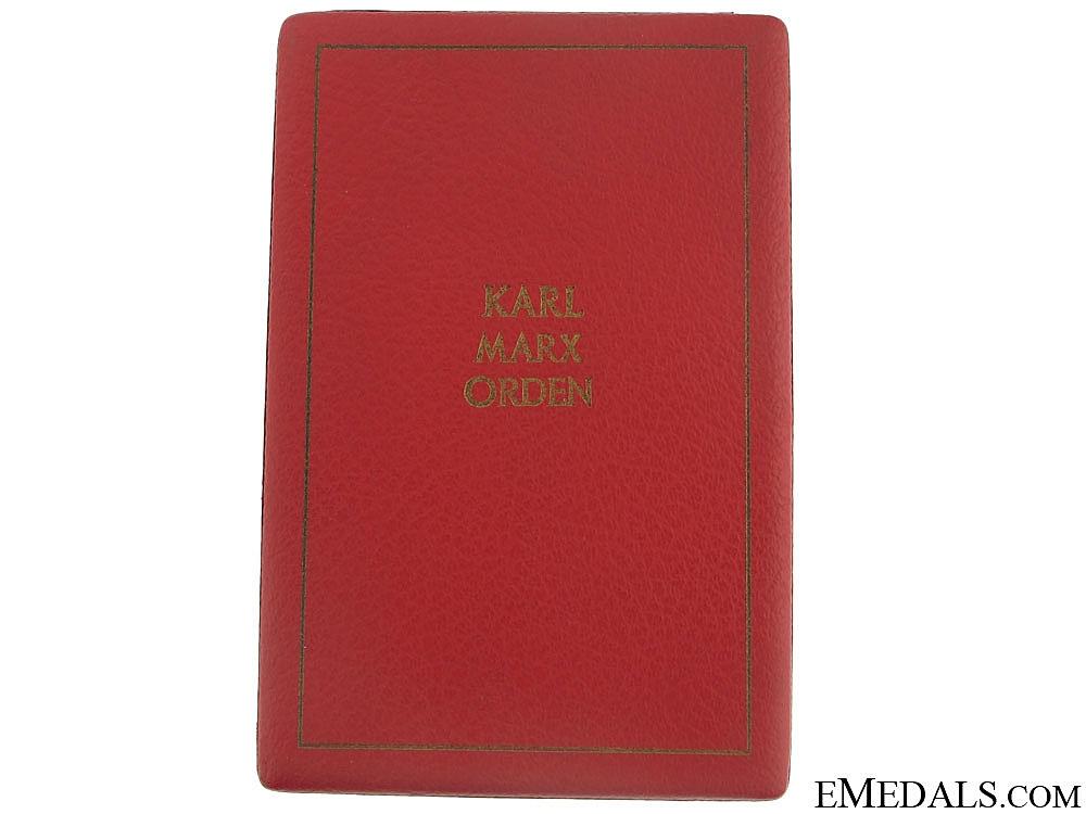 Order of Karl Marx