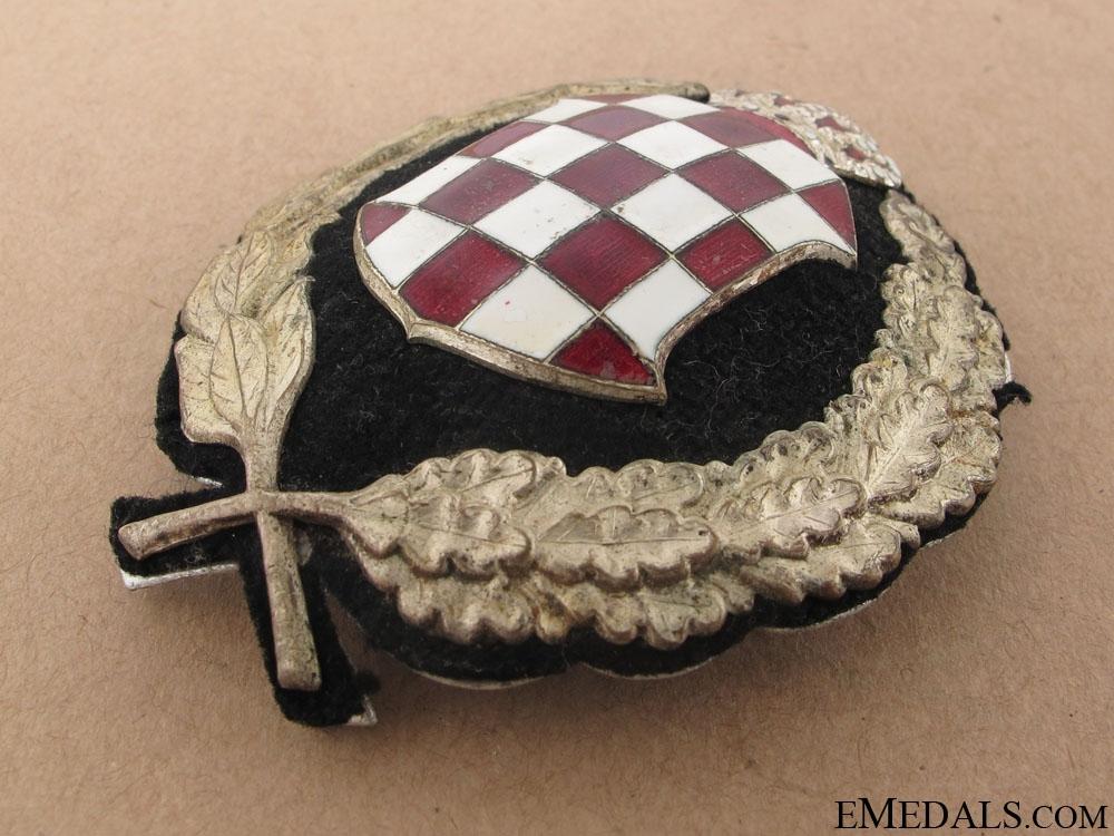 Banovina of Croatia (1939-1941) - Police Cap Badge