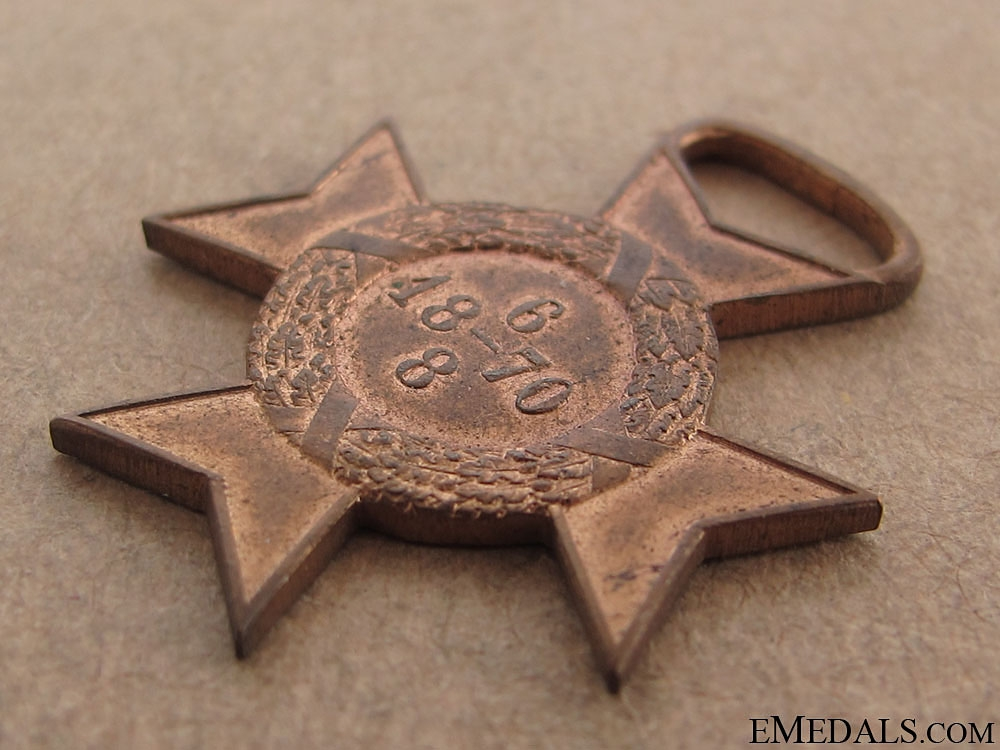 Paraguay Cross 1870