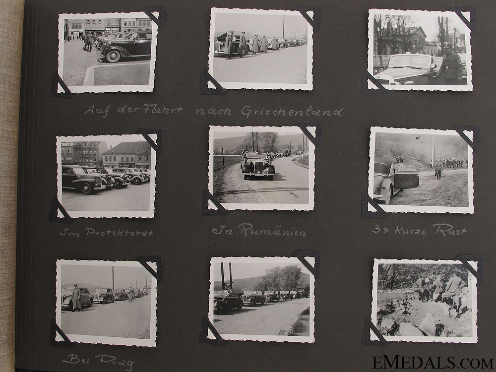An Extensive 1941 SS Photo Album & Himmler