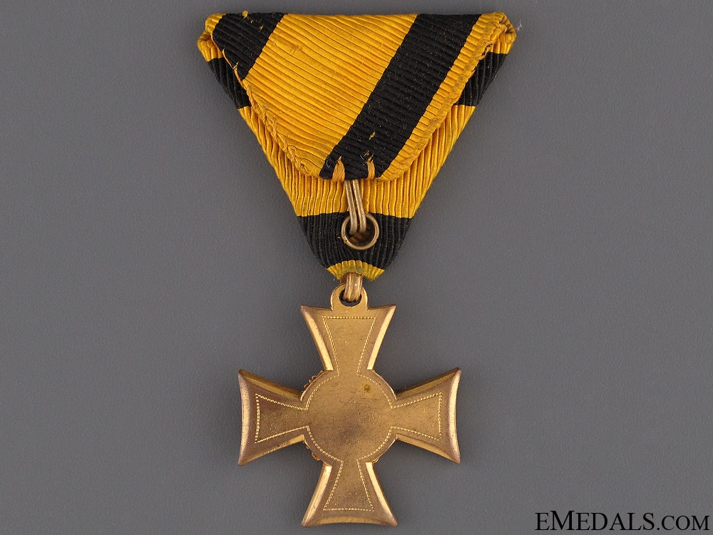 Long Service Cross 2nd Class for 35/40 Years