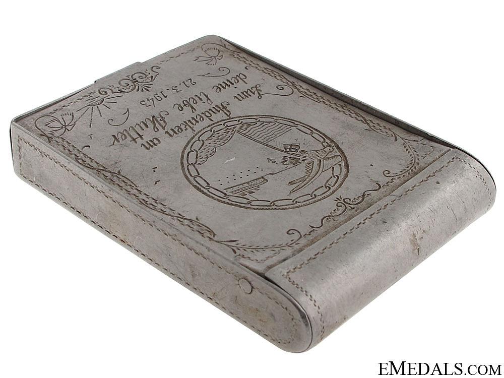 Blockade Runner Badge Engraved Box