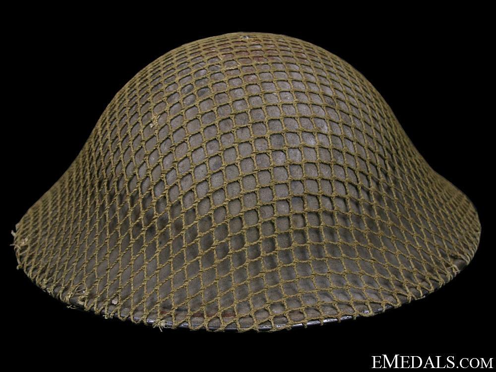 WWII Mk.II. Army Helmet - Unit Marked