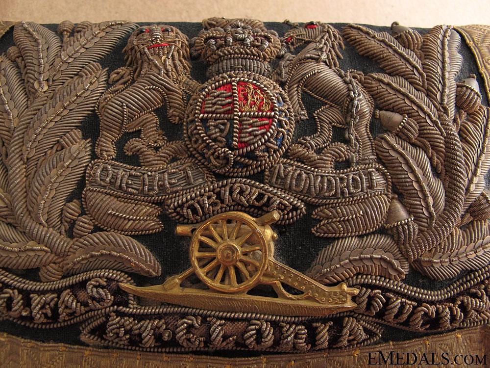 A Victorian Royal Artillery Officer's Dress Pouch