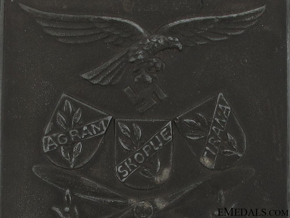 Luftwaffe Special Achievement Plaque