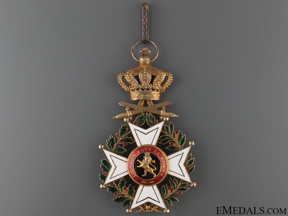 Order of Leopold I - Commander