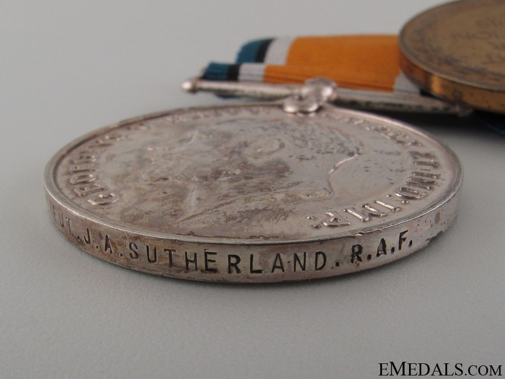 Group of Six to J.A.Sutherland RAF & RCAF