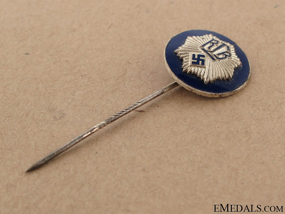 "National Air Raid Protection Union ""Luftschutz"" Officer's Stickpin"