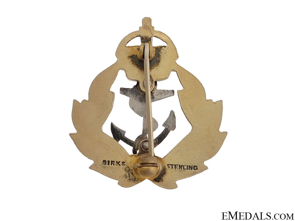 WWII Royal Canadian Navy Pin by Birks