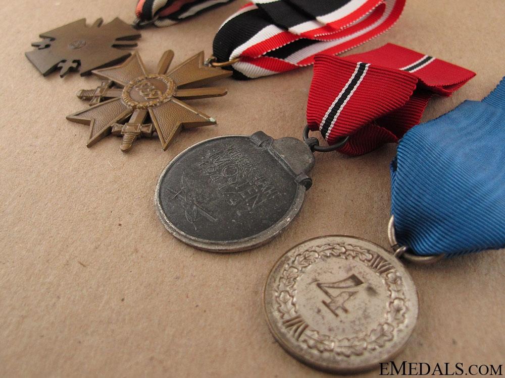 Four WWII German Awards