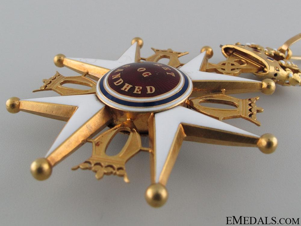 A Royal Norwegian Order of St. Olav; Commander's Cross in Gold