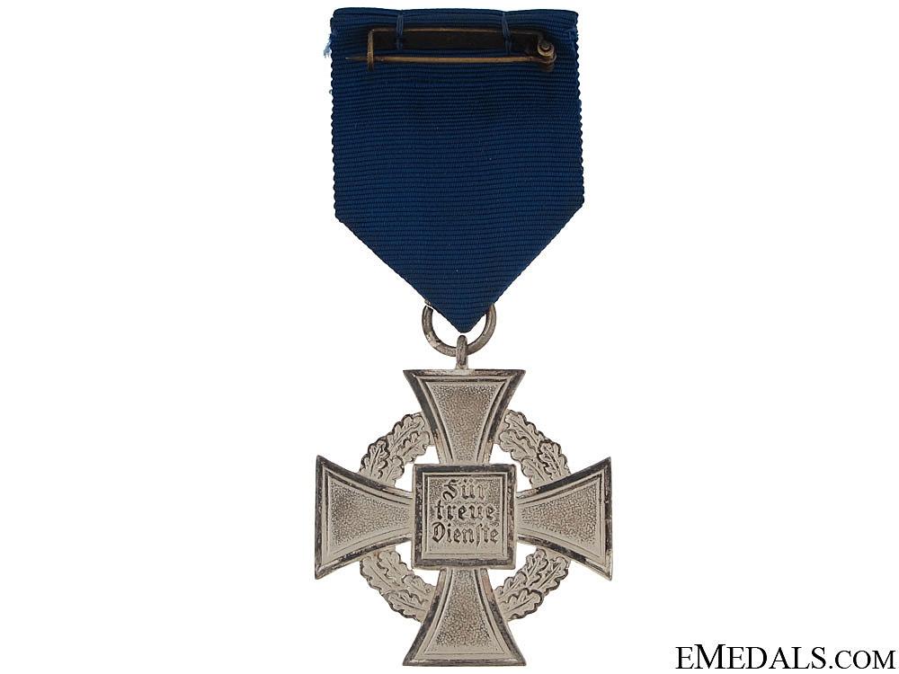 Faithful Service Cross – Third Class