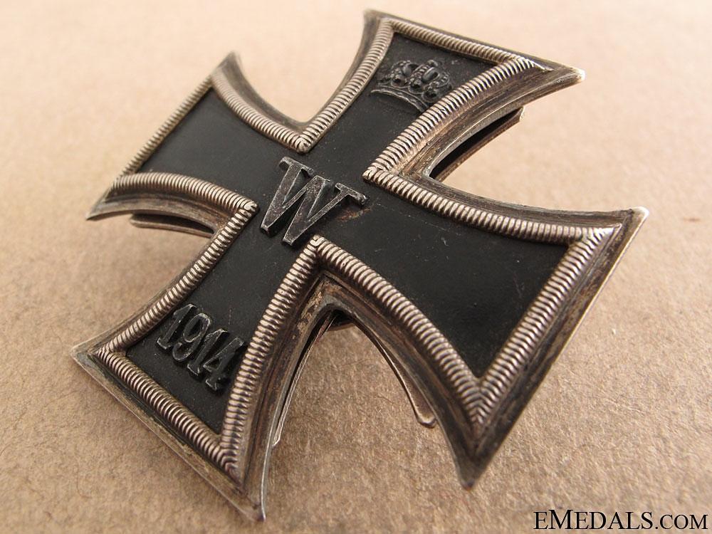 Superb Iron Cross 1st. Class 1914 – Meybauer