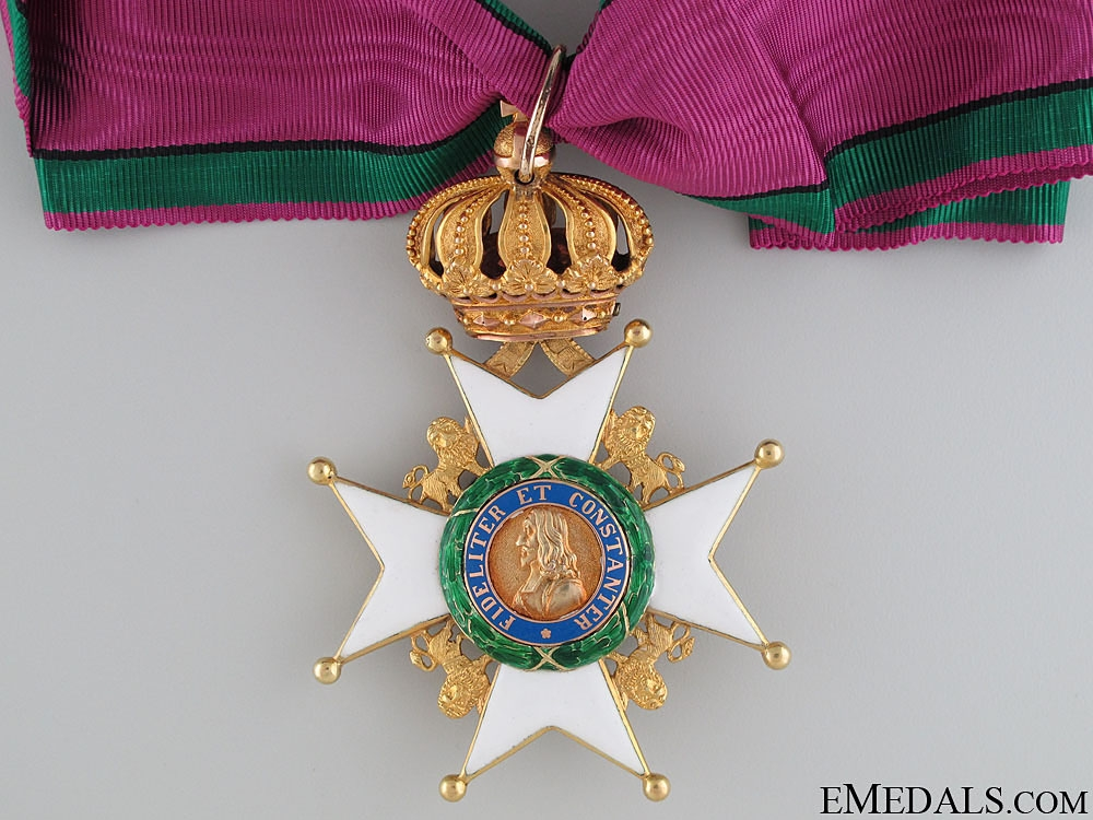 Saxe-Ernestine House Order – Gold Commander's Cross