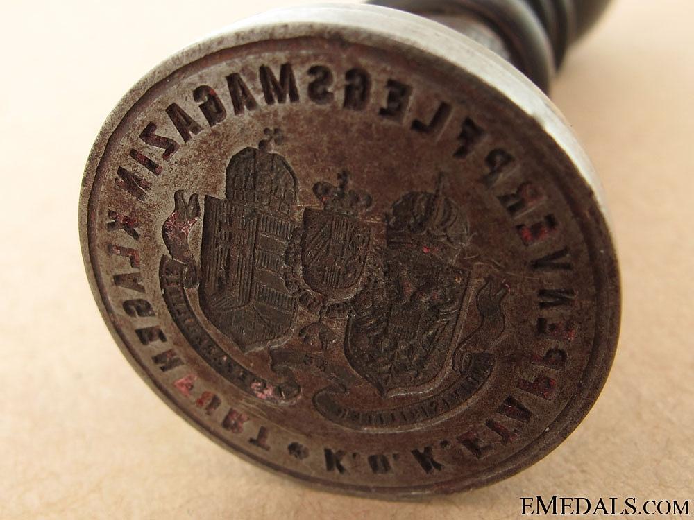 WWI Imperial and Royal Klagenfurt - Carinthia Regimental Stamp