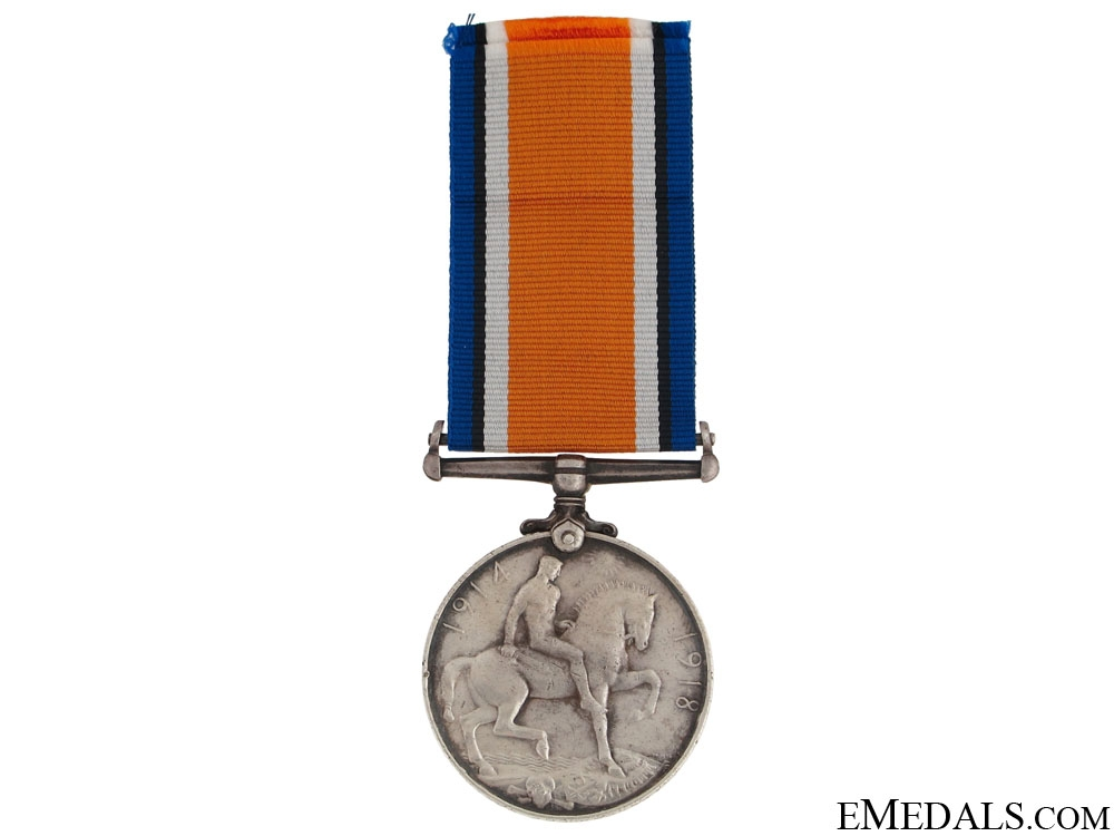 WWI British War Medal - Gas Attack KIA